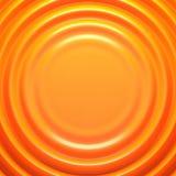 Fondo ondulado naranja Fotografía de archivo