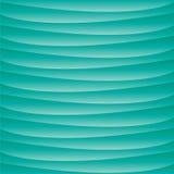 Fondo ondulato del turchese acquatico blu illustrazione vettoriale