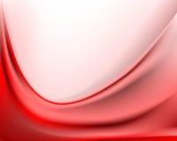 Fondo ondulato rosso luminoso royalty illustrazione gratis