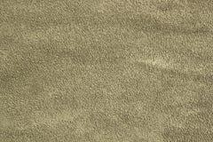Fondo opaco cachi verde scuro del tessuto della pelle scamosciata, fondo del primo piano immagini stock libere da diritti