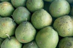 Fondo orgánico de la naturaleza del pomelo fresco verde Imagenes de archivo