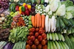 Fondo organico della verdura fresca Fotografia Stock