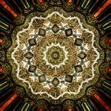 Fondo oriental de la textura del ornamento del Grunge Fotos de archivo