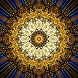 Fondo oriental de la textura del ornamento del Grunge Fotografía de archivo