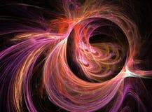 Fondo originado en ordenador abstracto ilustración del vector