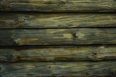 Fondo orizzontale di legno strutturato con lo spazio della copia Piattaforme orizzontali Posto per testo fotografia stock