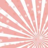 Fondo orizzontale di luce solare Priorit? bassa con le stelle brillanti Magia, festival, manifesto del circo illustrazione vettoriale