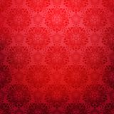 Fondo ormamental rojo ilustración del vector