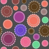 Fondo ornamental - colorido Foto de archivo libre de regalías