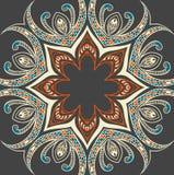 Fondo ornamental colorido Foto de archivo