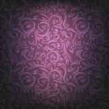 Fondo ornamental violeta stock de ilustración