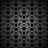 Fondo ornamentale nero d'annata Immagine Stock Libera da Diritti