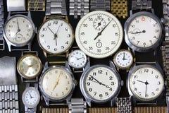 Fondo-orologi fotografia stock libera da diritti