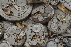 Fondo - orologi Fotografia Stock Libera da Diritti