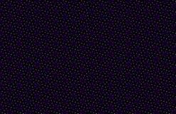Fondo oscuro abstracto con los copos de nieve, modelo inconsútil geométrico en negro, azul rojo marrón amarillo-naranja marrón gr Fotos de archivo