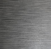 Fondo oscuro de la textura del acero inoxidable Fotos de archivo