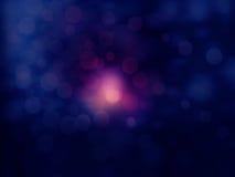 Fondo oscuro de las luces borrosas con el espacio Fotos de archivo libres de regalías