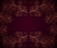 Fondo oscuro de las rosas ilustración del vector