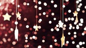 Fondo oscuro de Loopable del Año Nuevo almacen de metraje de vídeo