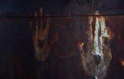 Fondo oscuro Garabato del ` s de los niños Imagen de archivo libre de regalías