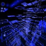 Fondo oscuro y azul libre illustration