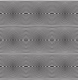 Fondo ottico senza cuciture di vettore del modello di arte Immagine Stock
