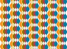 Fondo oval colorido de las columnas ilustración del vector