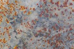 Fondo oxidado abstracto de la textura del metal fotografía de archivo