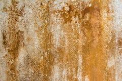 Fondo oxidado de la pared vieja Foto de archivo libre de regalías