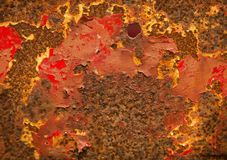 Fondo oxidado de la textura del Grunge Fotografía de archivo
