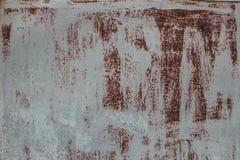 Fondo oxidado del acero de hoja Fotografía de archivo