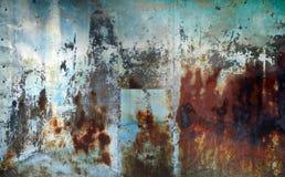 Fondo oxidado del metal foto de archivo libre de regalías
