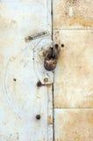 Fondo oxidado del metal Imagen de archivo