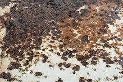 Fondo oxidado del metal Imagenes de archivo