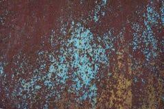 Fondo oxidado y resistido del color imagen de archivo