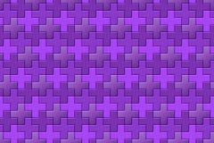 Fondo púrpura con el modelo cruzado libre illustration