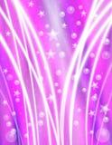 Fondo púrpura de la celebración Foto de archivo libre de regalías
