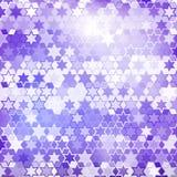 Fondo púrpura de la estrella Fotografía de archivo libre de regalías