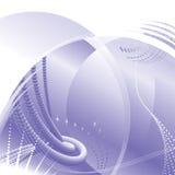 Fondo púrpura de la tecnología