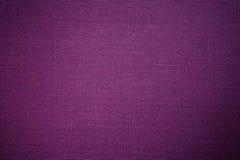 Fondo púrpura de la tela Foto de archivo