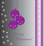 Fondo púrpura de las chucherías con el texto Foto de archivo libre de regalías