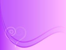Fondo púrpura del amor Imagenes de archivo