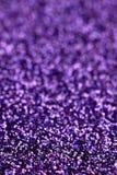 Fondo púrpura del brillo de la chispa Textura del extracto del día de fiesta, de la Navidad, de las tarjetas del día de San Valen Imagen de archivo libre de regalías