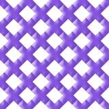 Fondo púrpura del modelo de la repetición de la marca de rayitas cruzadas Imagenes de archivo