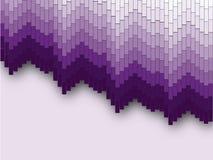 Fondo púrpura del mosaico imagen de archivo