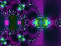 Fondo púrpura del remolino ilustración del vector