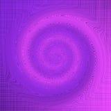 Fondo púrpura del vórtice Fotografía de archivo