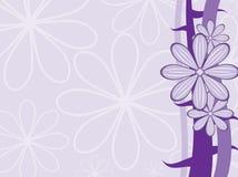 Fondo púrpura del vector Fotografía de archivo