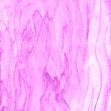 Fondo púrpura dibujado mano abstracta de la acuarela de la pintura, illustrat de la trama Imágenes de archivo libres de regalías