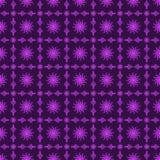 Fondo púrpura inconsútil de Sun y del ventilador Fotografía de archivo libre de regalías